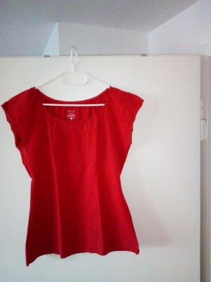 Zero Camiseta rojo Algodón