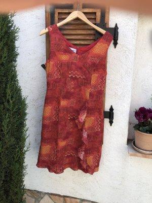 Strandjurk rood-oranje