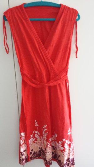 rotes Sommerkleid von Zara