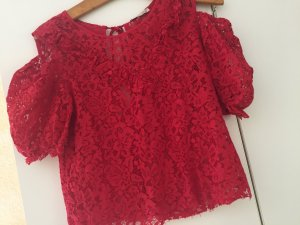 Zara Knitted Jumper carmine