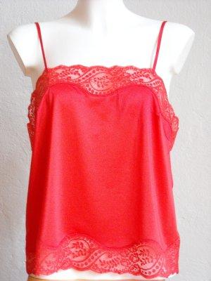Rotes Spitzenhemdchen von felina Gr. 42