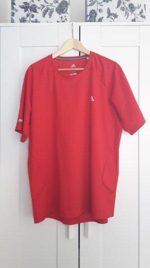 rotes Sportshirt adidas