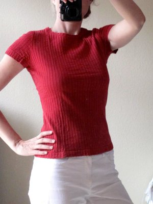 Rotes, stilvolles T-Shirt #rotes Top# von Tiffany Tomato Gr. 38