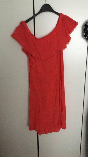 H&M L.O.G.G. Vestido playero rojo