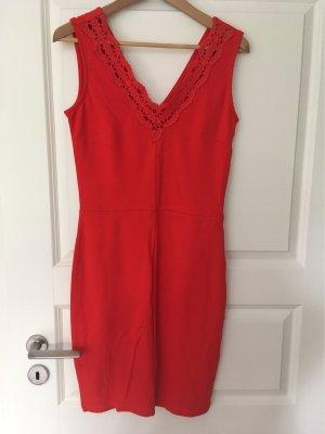 Mint&berry Robe en jersey rouge