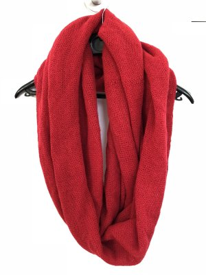 Accessorize Knitted Scarf red