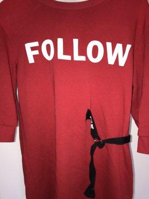 ~Rotes Sweatshirt Kleid