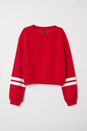 Rotes Sweatshirt von H&M Divided