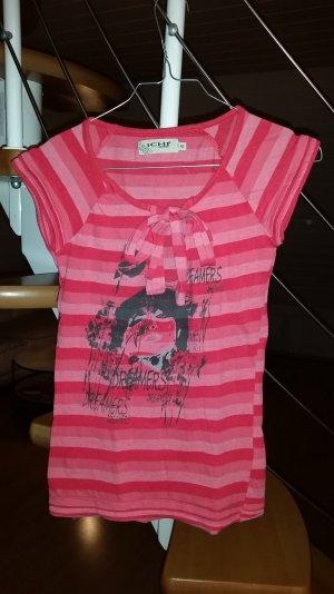 rotes T-Shirt, Ichi, Gr.XS