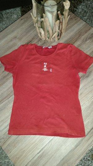 Rotes T-Shirt v. s.Oliver Gr. 38 M Top!