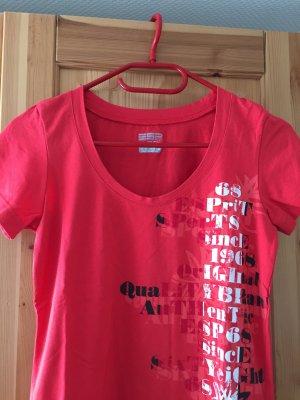Rotes T-Shirt von Esprit Sports in Größe 36