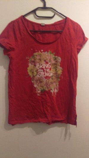 Rotes T-Shirt von s.Oliver in Größe 40