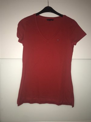 Rotes Tommy Hilfiger Shirt