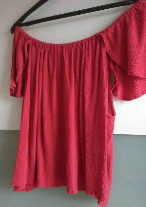 Rugloze top rood