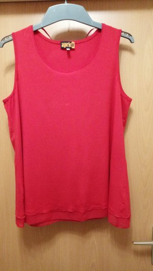 Aprico Top basic rosso