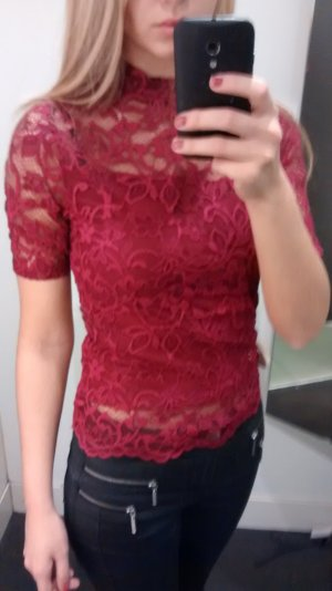 Rotes Top Spitze H&M