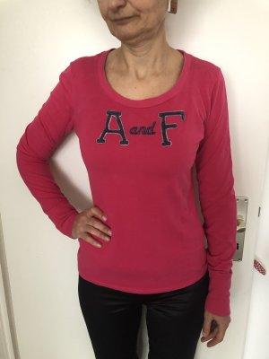 Abercrombie & Fitch Maglietta sport rosso lampone