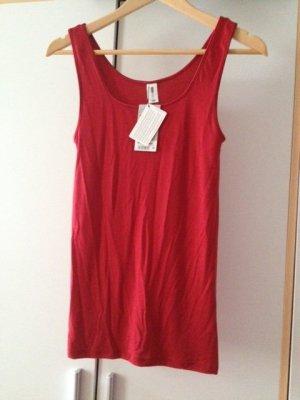 rotes Top/Unterhemd von Pompadour Gr. 40