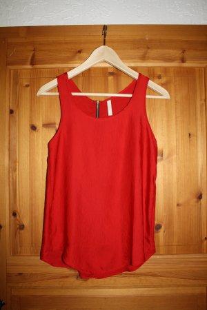Bershka Camisa de mujer rojo