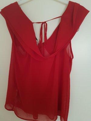 Rotes Top von Zara ♡