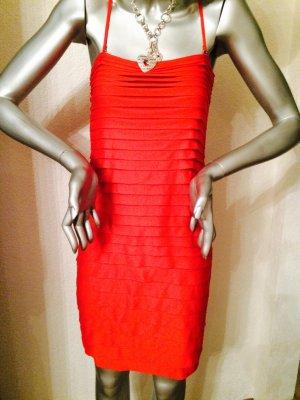 Rotes Trägerkleid von Only Gr. M