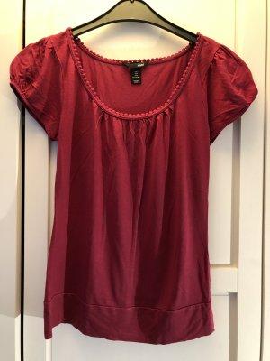 Rotes Tshirt H&M