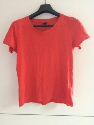 Rotes Tshirt von ginatricot in M