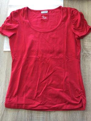 Rotes Tshirt von Street One