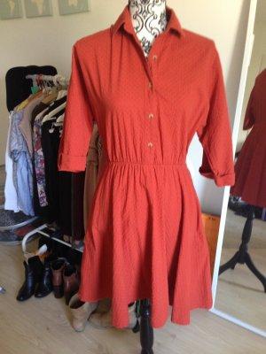Rotes Vintage Kleid Mango