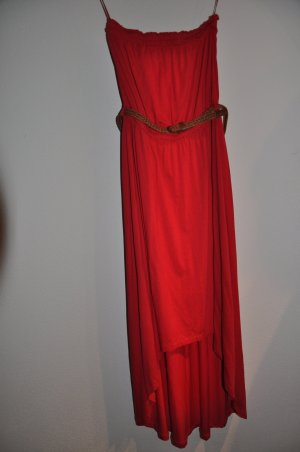 Rotes Vokuhilakleid von Orsay, Gr. 34