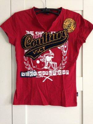 Rotes VSCT Shirt mit Aufdruck