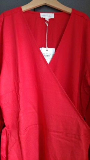 Rotes Wickelkleid Armedangels M