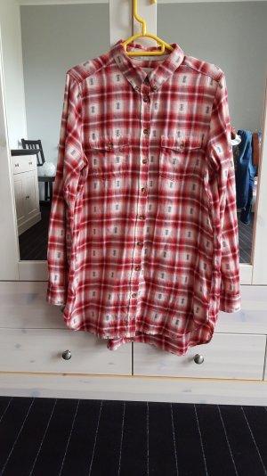 rotkariertes Hemd von H&M Größe 40