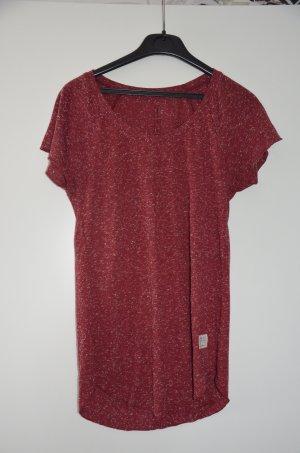 Rotmeliertes Shirt von Cross Jeans