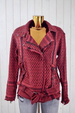ROUGH STUDIOS Damen Jacke Mod.Harley D.Jacket Biker-Style Palimuster Gr.OS Neu!