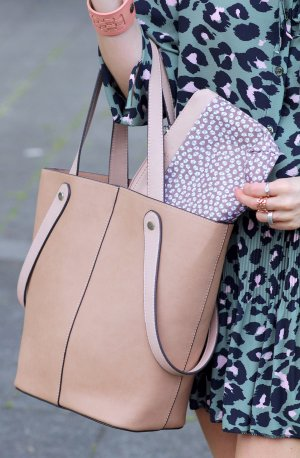 Roxanne Shopper Handtasche beige von Tom Tailor Neu mit Etikett