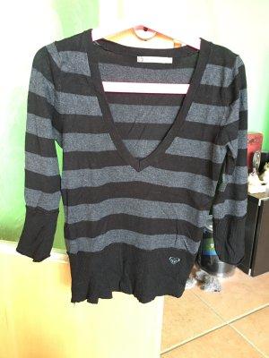 Roxy Stripe Shirt black-dark grey