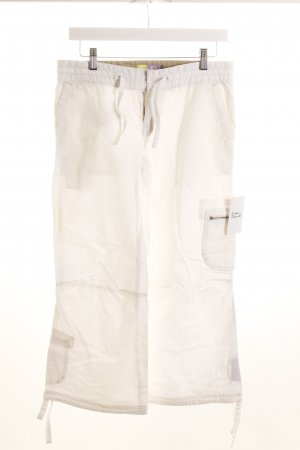 Roxy 7/8-Hose weiß schlichter Stil