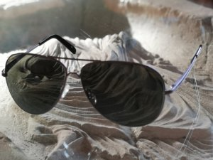 Roxy Glasses black-silver-colored