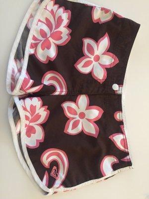 Roxy Badeshorts Badehose Shorts Braun Pink S 36 Surfer Style
