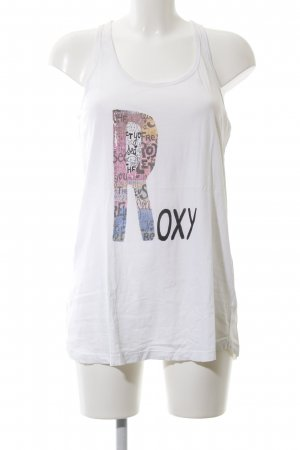 Roxy Basic Top Motivdruck Casual-Look