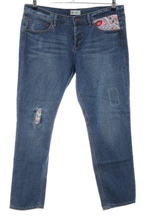 Roxy Jeans boyfriend blu stile casual