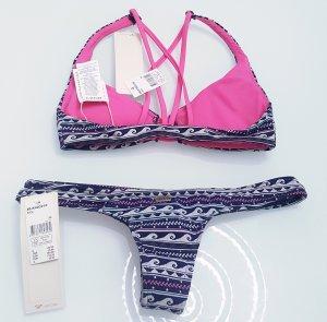 ROXY bunt, super sexy und knapp Bikini gr. XS