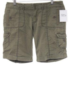 Roxy Pantalone cargo grigio-verde stile safari