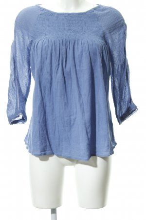 Roxy Crash-Bluse stahlblau Boho-Look