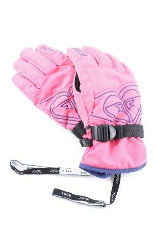 Roxy gefütterte Handschuhe pink-stahlblau Casual-Look