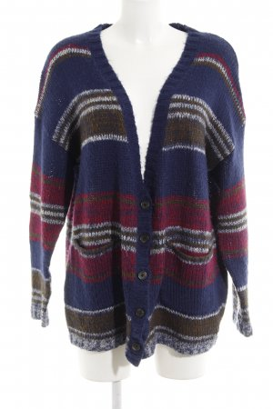 Roxy Coarse Knitted Jacket striped pattern casual look