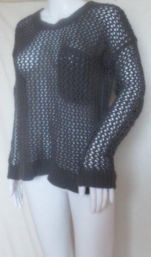 Roxy Grof gebreide trui zwart