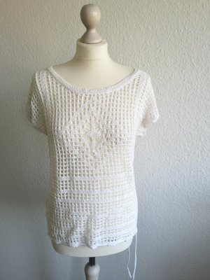 Roxy Crochet Top white mixture fibre
