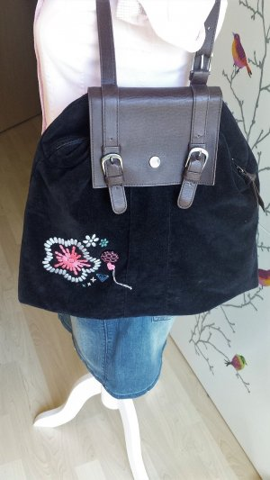 Roxy Canvas Bag black-pink
